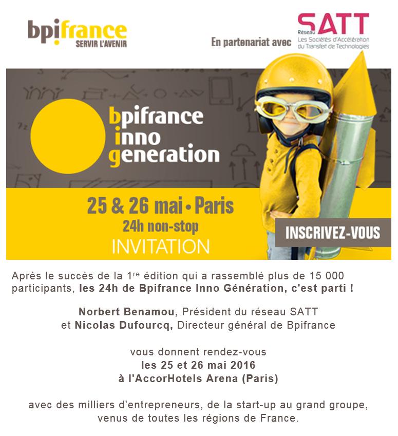 Invitation BIG Réseau SATT