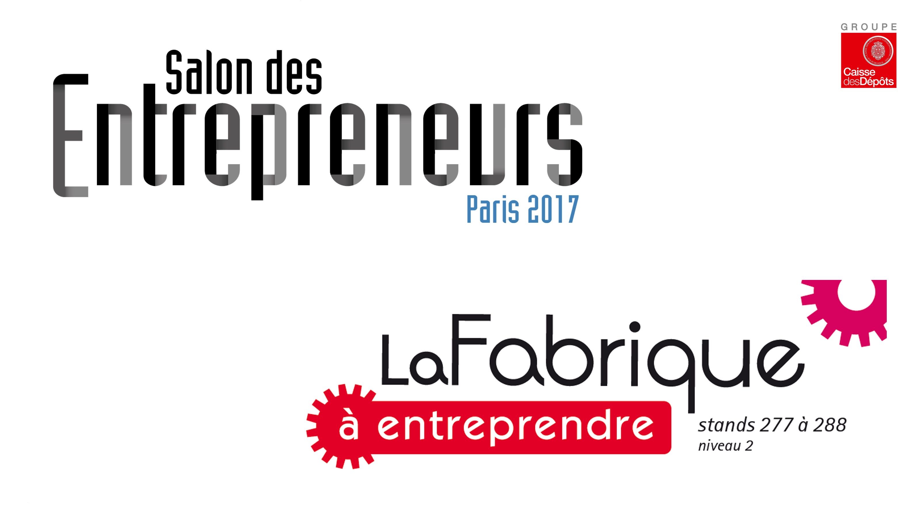 Le r seau satt pr sent au salon des entrepreneurs sur la for Salon des entrepreneurs paris