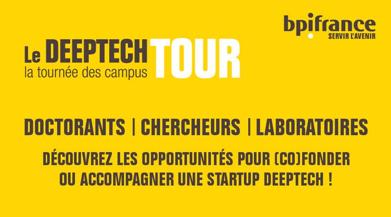 Deeptech Tour La tournée des campus