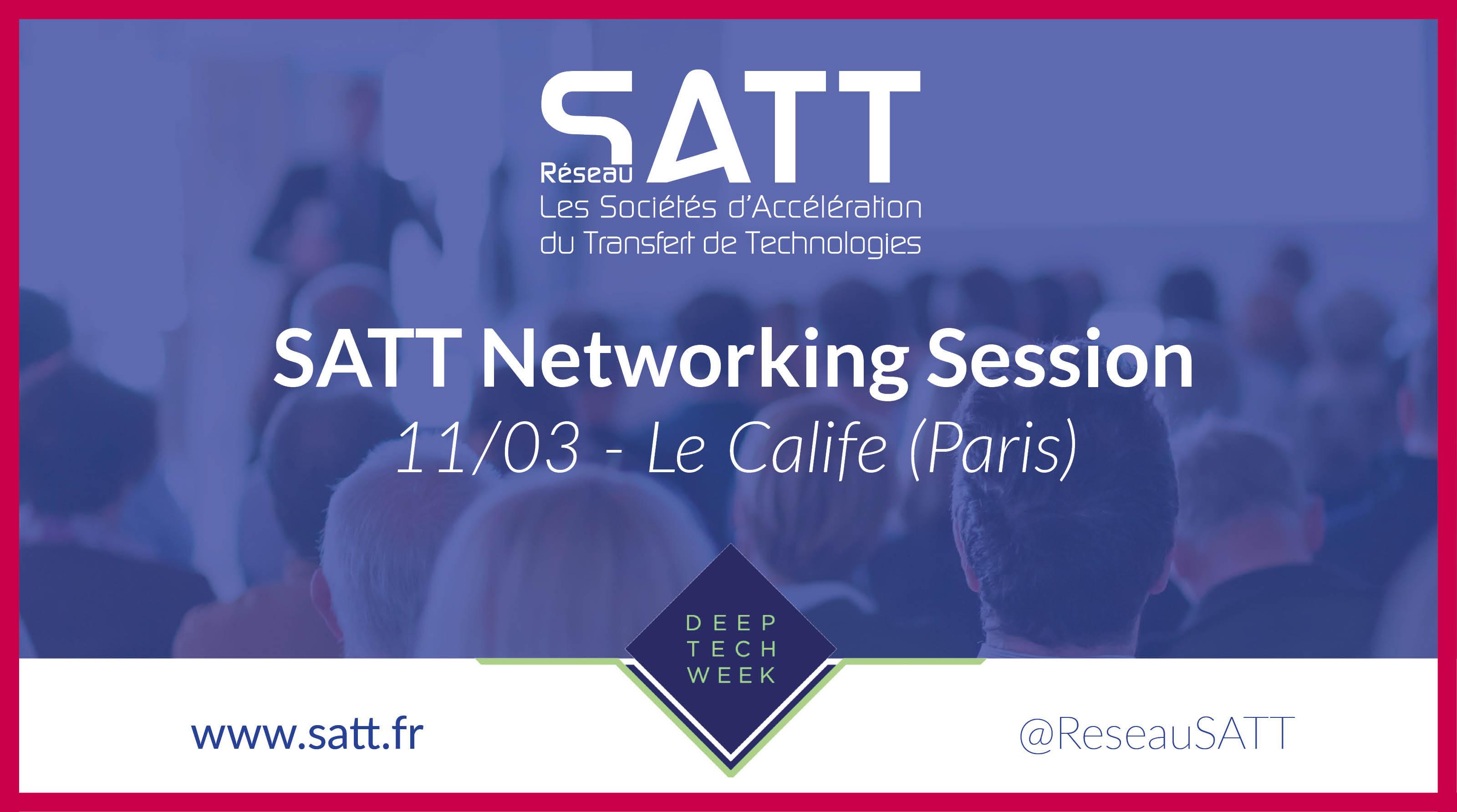[Reporté] SATT Networking Session
