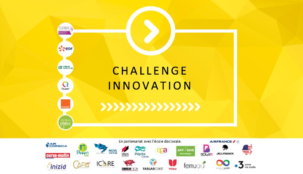 Challenge Innovation de l'Université de Corse
