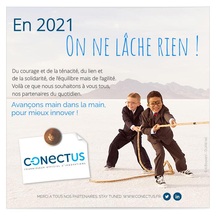 carte de voeux SATT Conectus