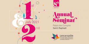 Affiche du Séminaire Annuel du Canceropôle PACA