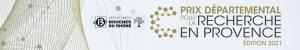 Prix Départemental Recherche en Provence